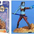 "Aayla Secura (Jedi Twi'lek), Star Wars: AotC Geonosis Arena-Clone Wars | Hasbro Saga 3.75"""
