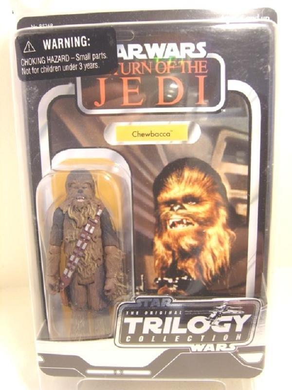 "2004 StarWars Rotj Chewbacca Kenner Vintage Trilogy Collection 3.75"" Hasbro Star Wars Saga VOTC"