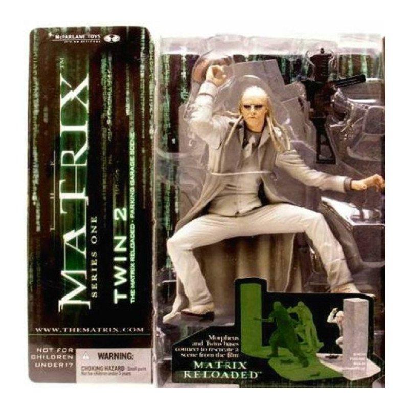 McFarlane Matrix Reloaded Movie Series 1: #17725 Ghost Twin 2 � Spawn | Neca