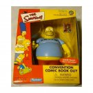 "Simpsons WoS Toyfare 2001 Comic Book Guy (Sci-Fi Con) Playmates 5"" action vinyl figure"