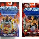 2002 Motu He-Man & Skeletor 200x Modern Classic Masters of the Universe Action Figures