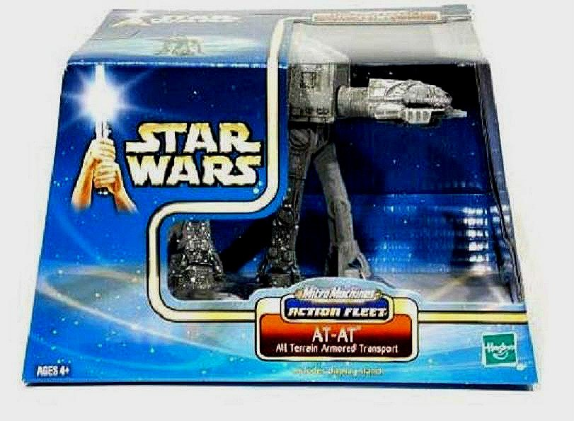 Star Wars Action Fleet AT-AT Imperial Walker Galoob Micro Machines 47224 Saga 2002