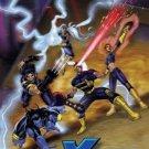 X-men Animation Cel 3D Art Poster Marvel Comics Wolverine, Cyclops, Storm, Phoenix, Magneto & Beast