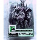 Signed McFarlane Spawn Comic Con Exclusive 2002 Dark Ages Viking Bloodaxe Figure [Pewter Finish]