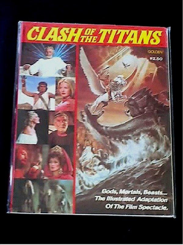 Vtg 1980 Clash/Titans Harryhausen Golden Comic Book {Kraken/ Bubo/ Pegasus/ Perseus}