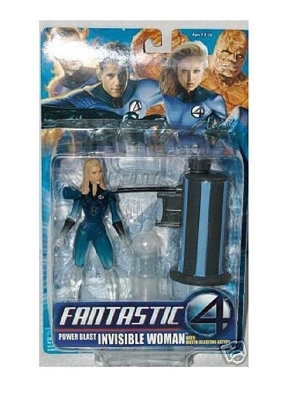 "Fantastic Four/4 Invisible Woman 2005 ToyBiz 6"" Marvel Legends Sue Storm (Phasing Variant)"