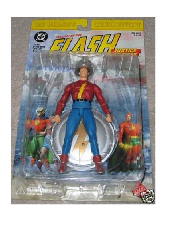 "DC Direct JSA GA Flash-Jay Garrick | DC Universe Classic 6"" � Arrow/Justice League JLA-Golden Age"