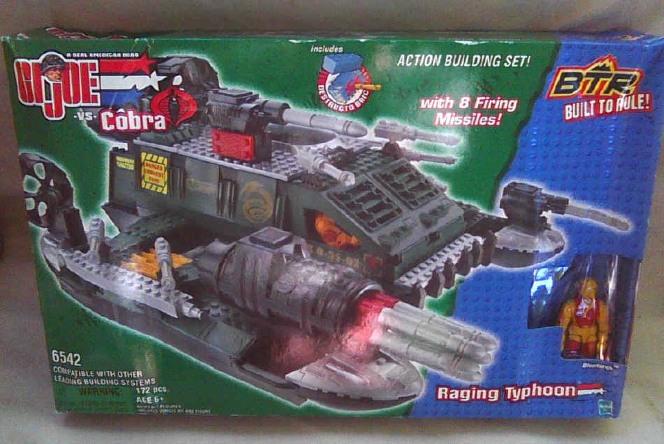 BTR G.I. Joe 06542 (Lego) Raging Typhoon/Blowtorch | Built to Rule Action Building Kit