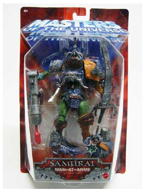Man-At-Arms Classic Samurai He-Man MOTU 200x Series Action Figure, Mattel 2003