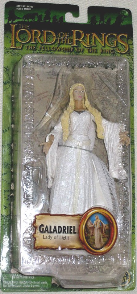 "Galadriel Lady of Light LotR, Marvel 6"" AF � Toybiz Lord of the Rings Fellowship, Cate Blanchett"