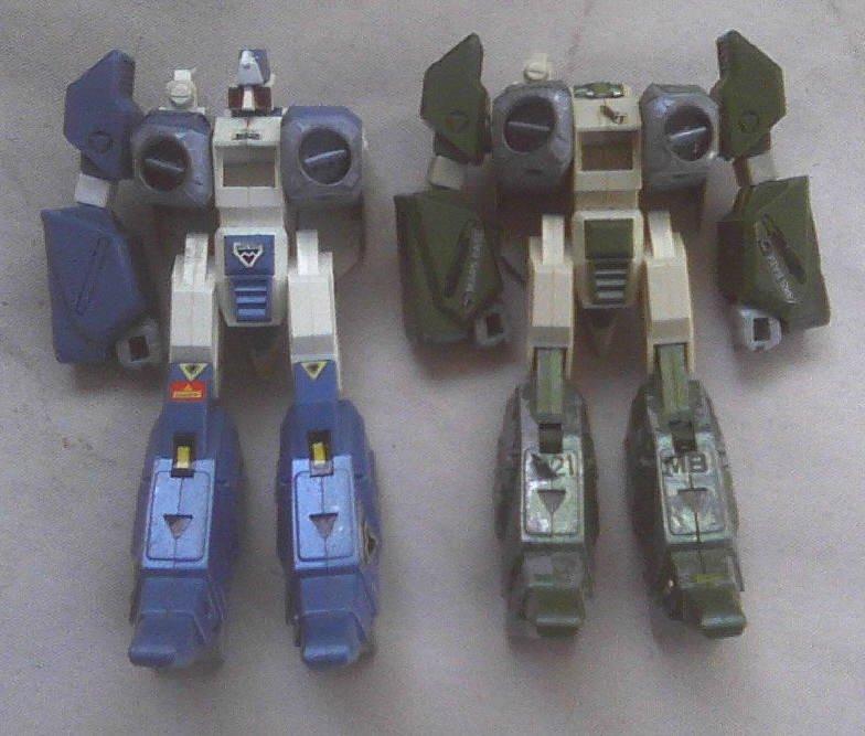 Gakken Japan Macross / Robotech Mospeada Legioss Alpha Fighters Henshin Robo Lot