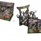 Gi Joe Ninja Battles - Arashikage Temple Dojo Playset + Cobra Black Dragon, Snake Eyes, Storm Shadow