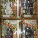 "'01 Art Asylum Crouching Tiger, Hidden Dragon Complete Set Deluxe 7"" Figure Dioramas PX Exclusive"