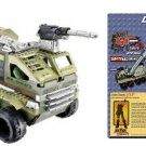 "Gi Joe 6508 BTR Lego Kit: Armadillo Assault Vehicle + Duke 3.75"" figure [Brick Construction Set]"