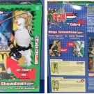 "Hasbro 81942: Gi Joe Cobra Ninja Showdown Snake Eyes vs. Storm Shadow 12"" Set + SpyTroops DVD (2003)"