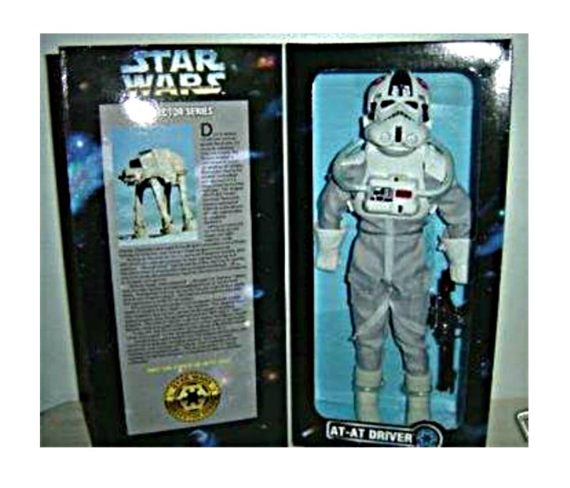 "At-At Driver 1:6 figure Vintage Star Wars 12"" Kenner Doll {Marmit Sideshow Hot Toy Medicom}"