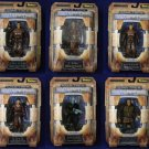 "Star Trek Aliens/ NX01 Away Team Set of 6 DST 7"" Art Asylum 2002 Star Trek: Enterprise Diamond"