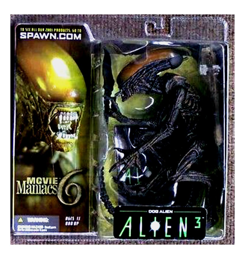 Alien 3 Movie: McFarlane Movie Maniacs 6: Alien 3 Dog Xenomorph