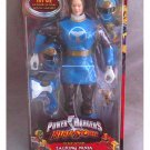 "Bandai DX-10513 Power Rangers Ninja Storm Talking 12"" Battle Ranger Blue Wind Deluxe 1/6 Figure MISB"