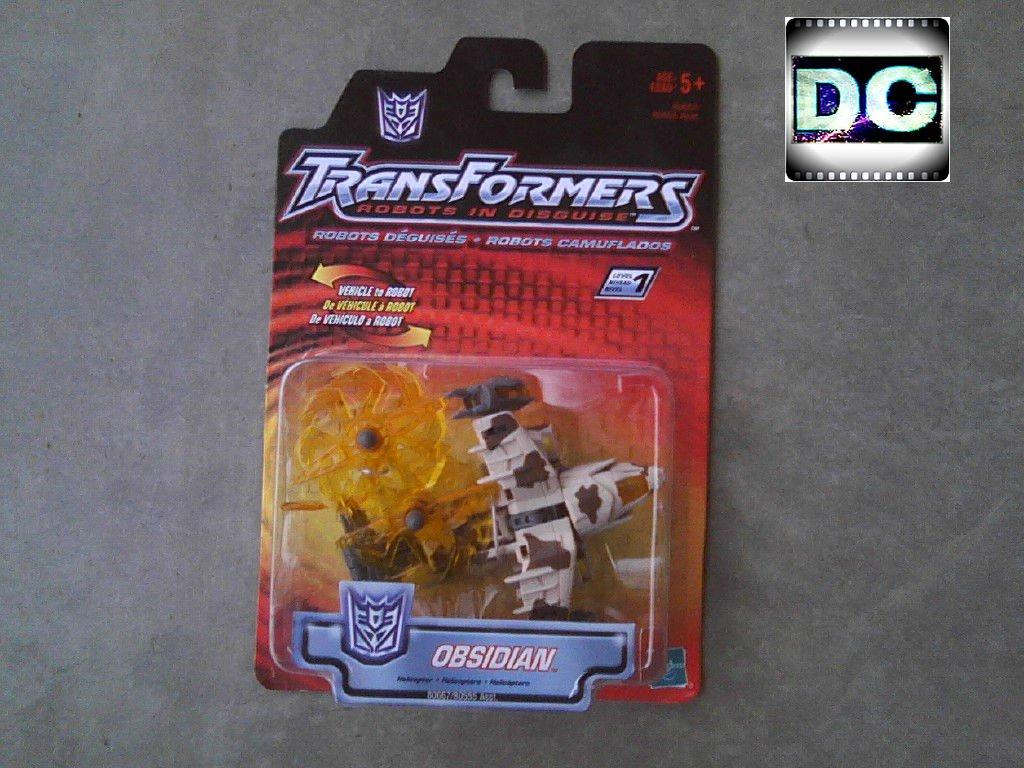 Transformers RID Obsidian (Drone) Hasbro 2002 BW Beast Machines BR-14