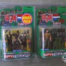 GI Joe SpyTroops Bonus Pack: Beachhead vs Cobra Sand Viper + Big Brawler Walmart Exclusive 3.75""