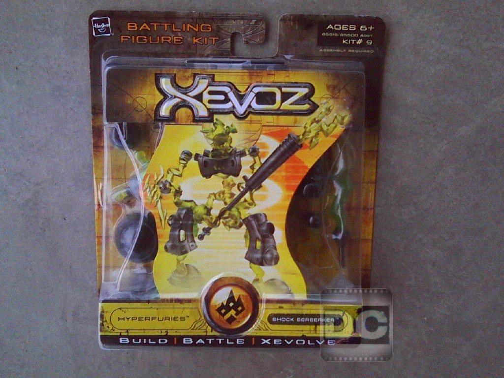 85518 Xevoz Hyperfuries Shock Berserker Figure Kit #9 Stikfas 2004 Hasbro