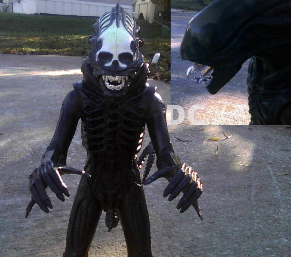 "1979 Alien Kenner 18"" toy figure doll, Giger Big Chap Xenomorph, EUC vintage grail 70060"