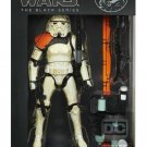 Star Wars A4305 Black Series #03 Sandtrooper Squad Leader 2013 (Orange) (Authentic) Hasbro 6 inch