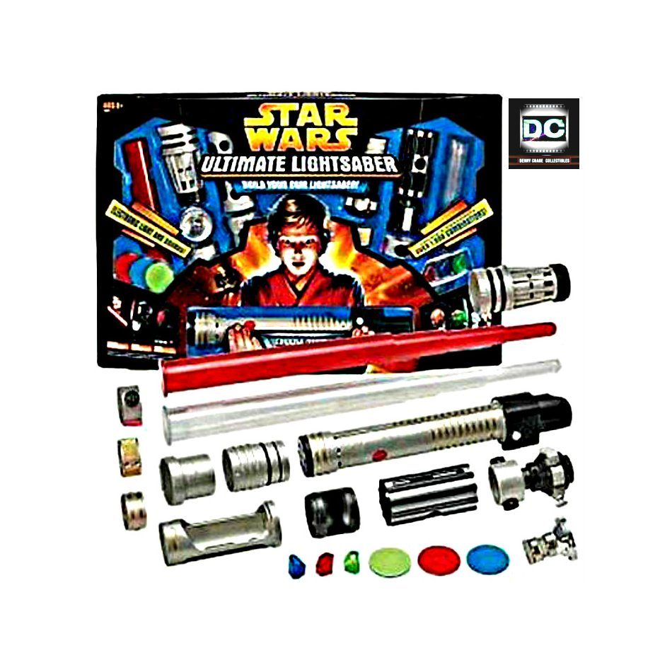 '05 Hasbro 84850 Ultimate Lightsaber Duel FX Kit-Build Your Own Star Wars [Electronic Light/Sound]