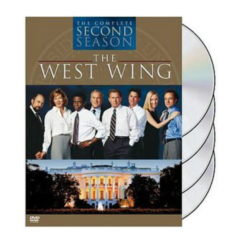 West Wing Complete Second Season 4-Disc Set [DVD] - Rob Lowe, Martin Sheen