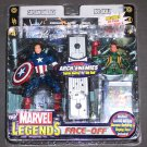 Marvel Legends Face Off 2-Pack Captain America vs Red Skull Agent Hydra Variant