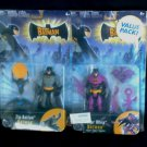 Batman BTAS 2-Figure Pack DC Universe Mattel 2004 Target Exclusive
