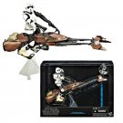"Star Wars Hasbro W1 Black Series 6"" Speeder Bike & Scout Biker Trooper Deluxe Set 2014 MISB A6588"