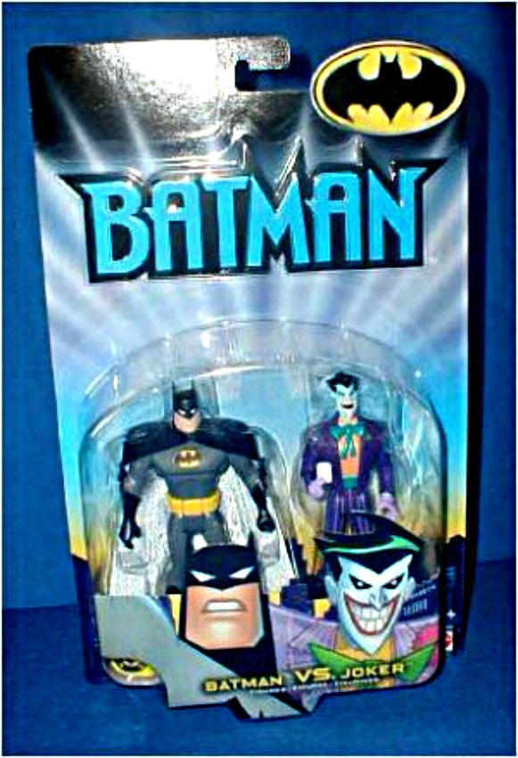 Batman vs. The Joker 2-Pack. Timm B:TAS Animated Mattel 2002. JLU Justice League Unlimited