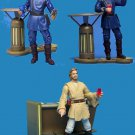 "Star Wars Saga Aotc ""Coruscant Outlander Club"" Cantina Bar Scene Set 2003 - loose complete"