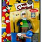 The Simpsons Sea Captain McCallister Series 5 Interactive • Playmates 2001 WoS 99211