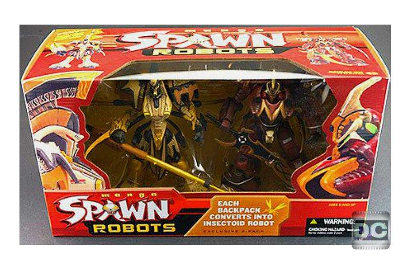 McFarlane Toys Deluxe Figure Box Set > Manga Spawn Samurai Warrior Robot 2-Pack - 2004 Exclusive