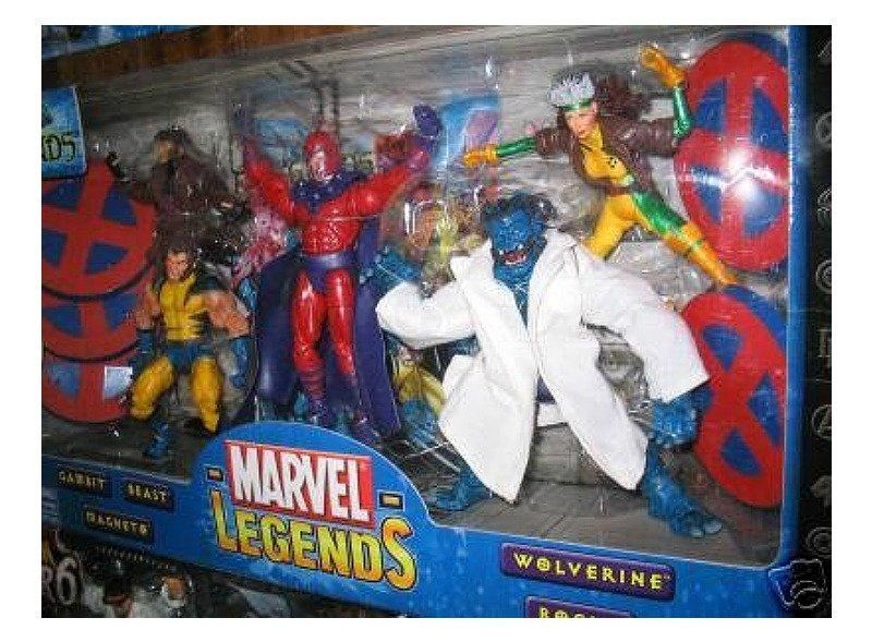 Marvel Legends XForce X-Men Box Set (Jim Lee Wolverine Variant Rogue Gambit Magneto Beast)