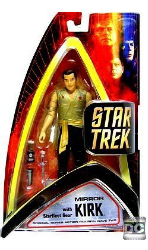 Star Trek TOS, Mirror Universe Capt. James T Kirk, Diamond Select, 2003 Art Asylum, 6 inch Figure