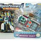 Energon Snow+Cat 2003 Hasbro GI Joe Transformers Deluxe Combat Class #80230