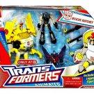 Transformers Animated: Deluxe Rescue Ratchet + Legends Prowl Starscream Hasbro 35374 NIB