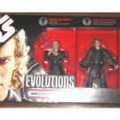 Star Wars 87749: Evolutions Legacy Sith 3-Pack Anakin->Darth Vader (RotS Deluxe Box Set) Hasbro 2006