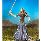 """ToyBiz 81117 LOTR 6"""" Eowyn Maiden of Rohan Figure Lord/Rings ROTK Gentle Giant"""