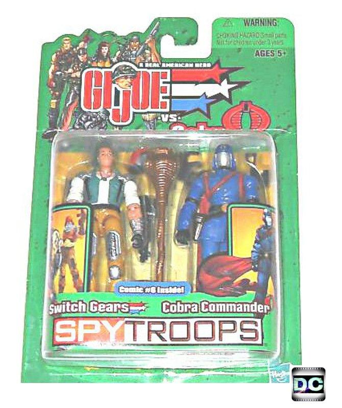gi joe spy troops 55441 switch gears vs cobra commander 3