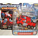 Transformers Energon (2003) - Autobot Inferno, Deluxe Hasbro Robot in Disguise