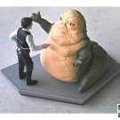Disney Han Solo/Jabba the Hutt (Star Wars:ANH) Figurine Statue Diorama • Wedding Cake Topper Set