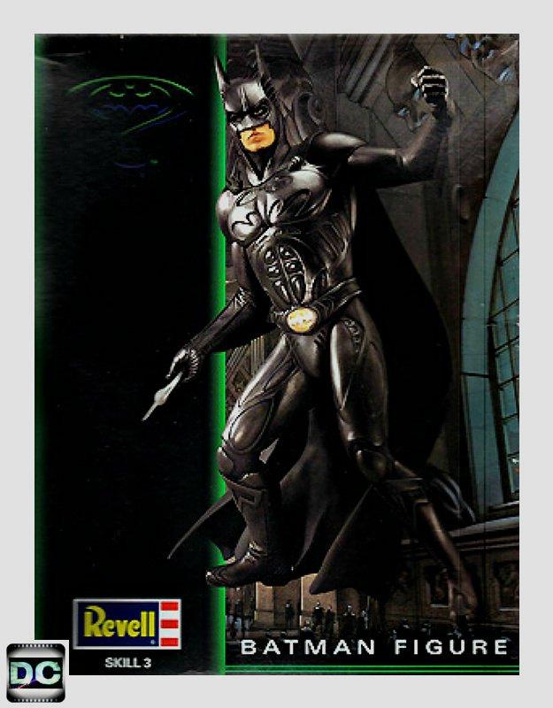 Revell Batman Forever 1/6 scale Val Kilmer Vinyl Model Kit Hot Toy Statue