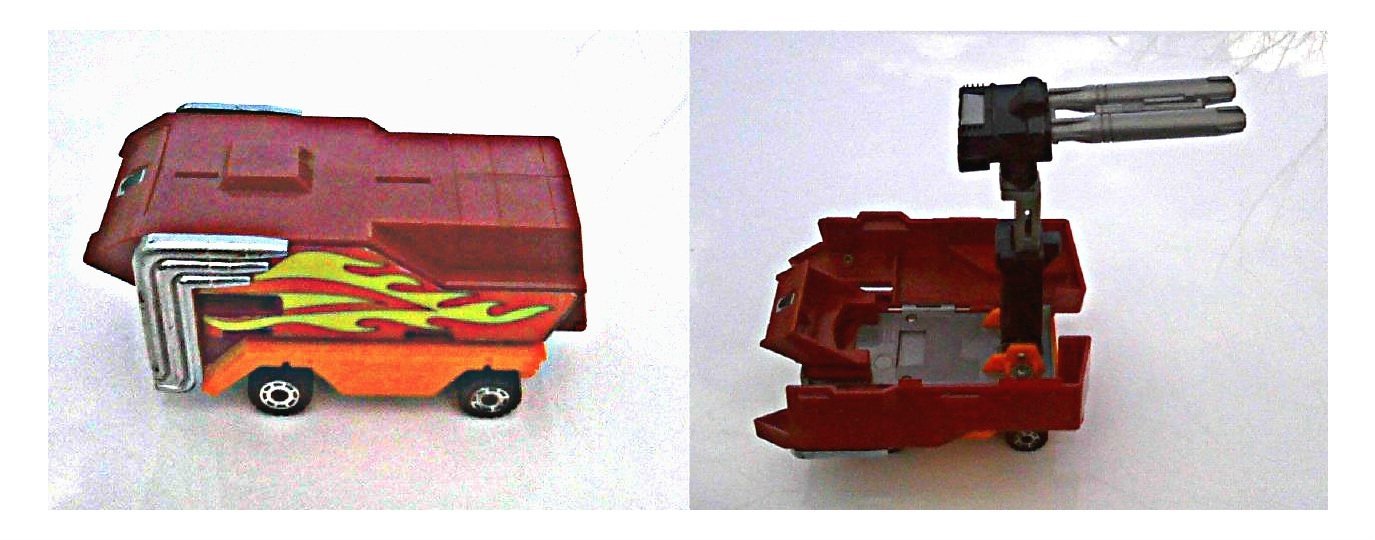 1986 Transformers: G1 Autobot Rodimus Prime trailer complete vintage toy part