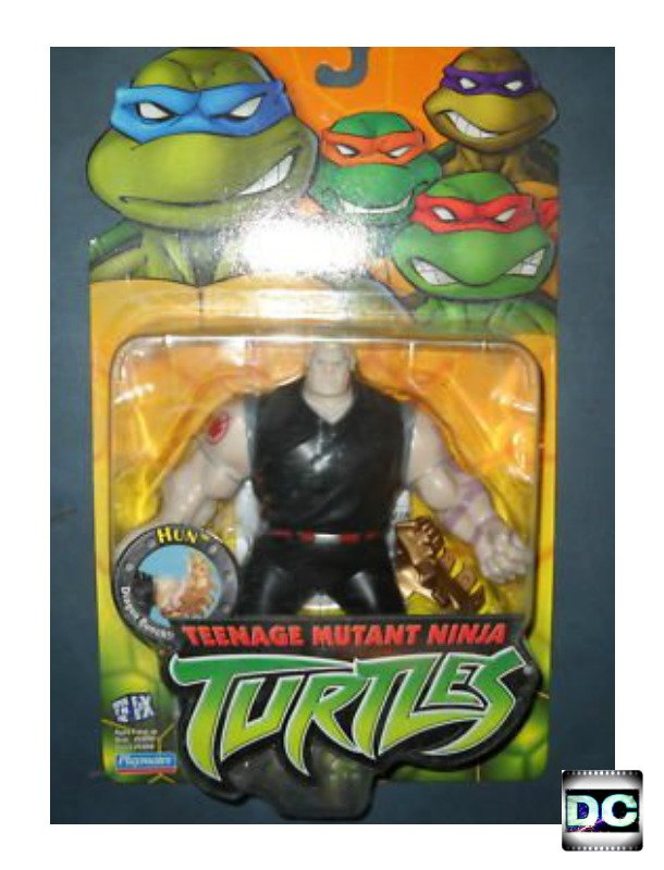 Teenage Mutant Ninja Turtles 2003 Toys : Tmnt quot hun fox kids series ninja turtles figure