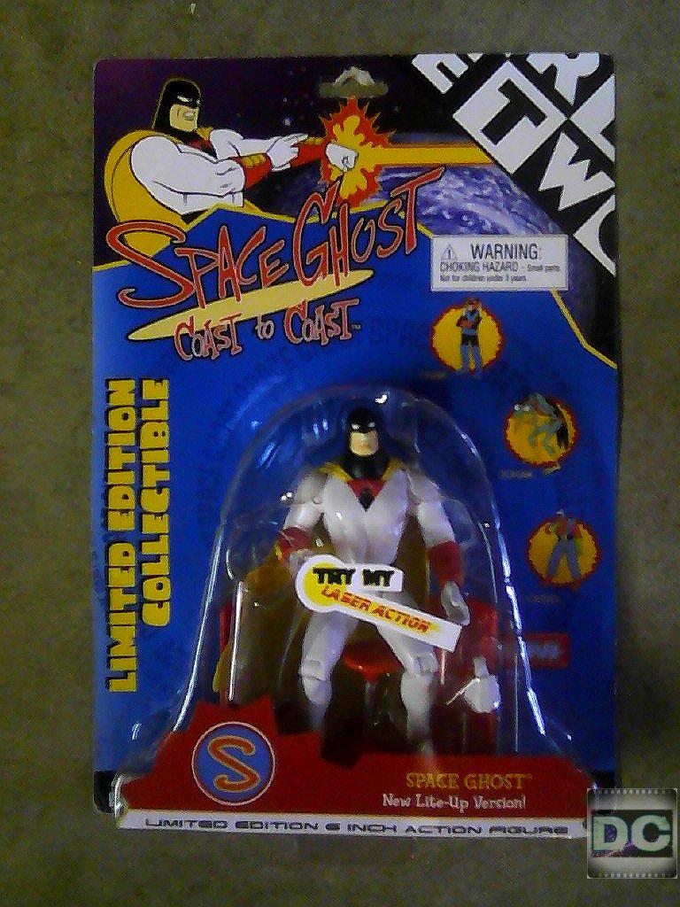 "Art Asylum Space Ghost 6"" 1/12 Figure-Hanna Barbera Cartoon-Toycom Ltd Edition [Adult Swim]"